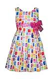 Bonnie Jean Multi Easter Spring Summer Dress Girls (4, Multi)