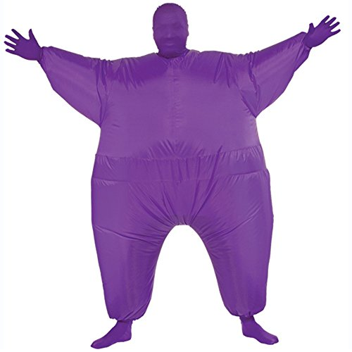 Ehomelife's Costume Adult Inflatable Body Suit Costume (Purple) (Inflatable Body Costume)