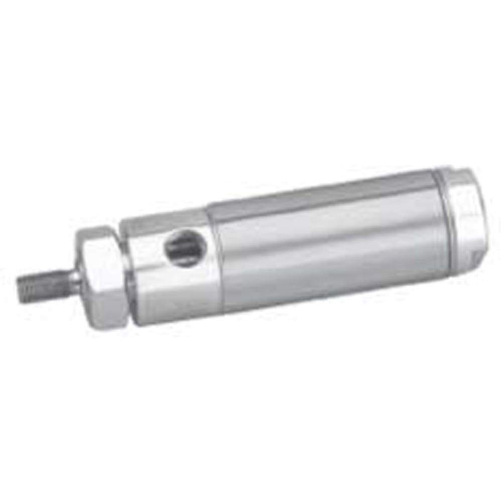Cylinder; 1-1/16 in. bore; 2 in. Stroke; dbl act Nose