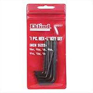 "product image for Eklind Hex Key Set 7 Piece 3/32 "" 1/8 "" 5/32 "" 3/16 "" 7/32 "" 1/4 """