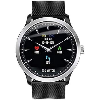 Amazon.com: Semoic Br4 ECG PPG Smart Watch Men with ...