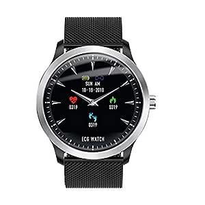 TOOGOO Br4 ECG PPG Smart Watch Men con Pantalla de ...