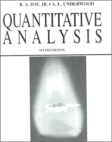 AmazonCom Quantitative Analysis Th Edition