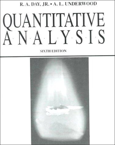 Quantitative Analysis (6th Edition)