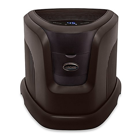 AIRCARE Evaporative Humidifier in Espresso | Measures 19'' L x 21-1/2'' W x 16-1/2'' H by Essick Air