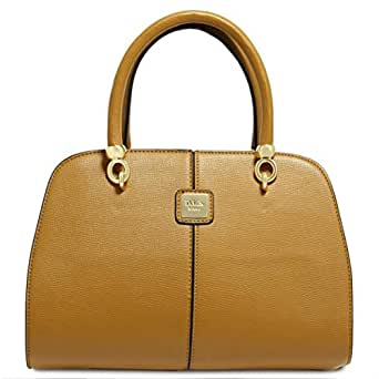 Dilaks 26017 Satchel Bag for Women - Synthetic, Brown