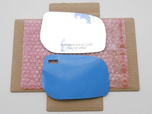 New Replacement Mirror Glass with FULL SIZE ADHESIVE for TOYOTA YARIS SCION xD Passenger Side View Right RH CAR MIRROR BAZAR