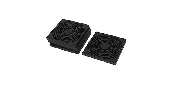 Amazon.com: eDealMax Cubierta del ventilador de 120 mm ordenador PC a prueba de polvo del polvo más frío Malla de filtro 5pcs: Electronics
