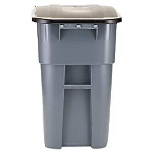 8. Rubbermaid Brute Big Wheel 50-Gal Square Container