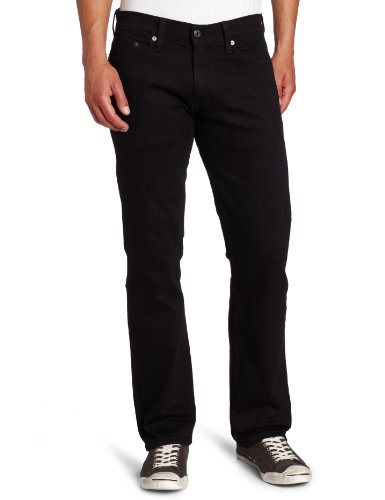 Levi_s Men_s 514 Straight fit Stretch Jean,  Black-Stretch, 36x30