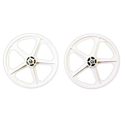 "Skyway White BMX Wheelset, 16 x 1.75"", Skyway 1 Freewheel"
