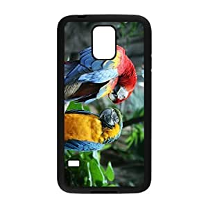 Cute Acutilingual Parrot Hight Quality Plastic Case for Samsung Galaxy S5