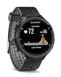 Garmin Forerunner 235 GPS löparklocka, Se bara, En storlek, Svart/grå