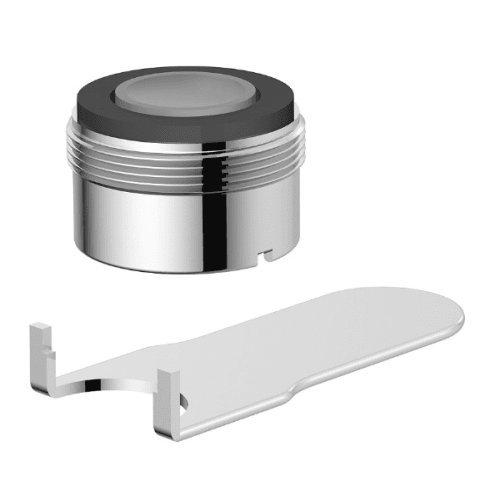 Danze DA613083NBR Standard Male Faucet Aerator Kit with Laminar Flow Pattern, 1.5 GPM, Tumbled Bronze