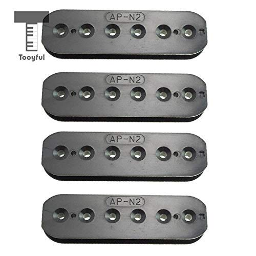 DDV-US - 4pcs Double Coil Humbucker Pickups 50/52mm for Electric Guitar Replacement Parts (Humbucker Rhythm)