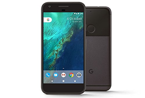 Google Pixel GSM Unlocked 5-Inch Display 32GB Smartphone (Verizon) - US Version (Quite Black)