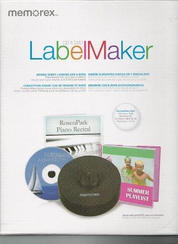 Memorex CD DVD Label Maker Kit 98977 by Memorex - Memorex Label Maker Cd Labels