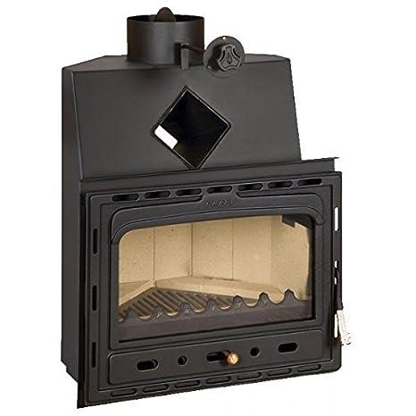 Combustión de madera chimenea Insertar Prity, Modelo ca ...