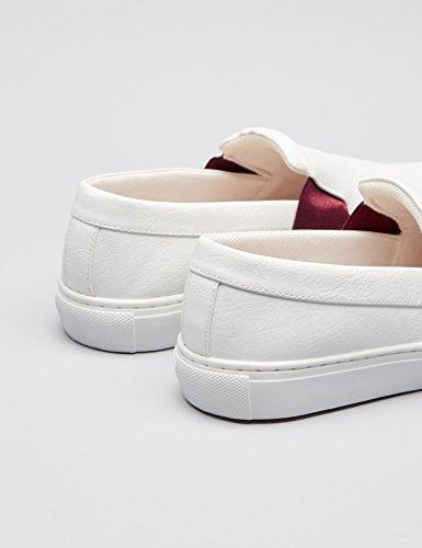 Hvit Top Lave Kvinners Finne I Stil on Sneakers Slip Skate waqUEz