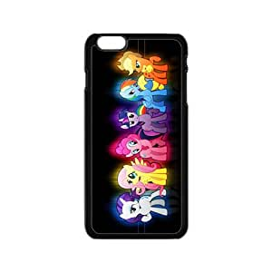 Colorful Cartoon Horse BlackiPhone 6 case