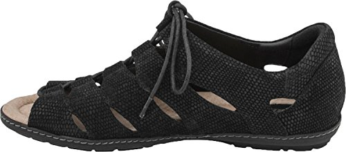 Women's New Sandal Earth Black Plover q4fq5