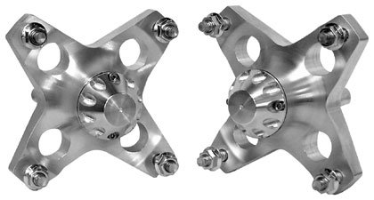 Lonestar Racing 12-246 Billet Front Wheel Hub for Yamaha YFZ450/Raptor 660/Raptor ()