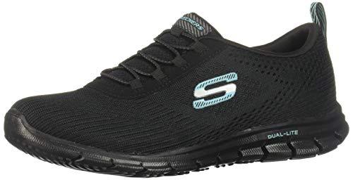 SKECHERS 22705 Zapatillas de deporte para Mujer, color Negro, 22