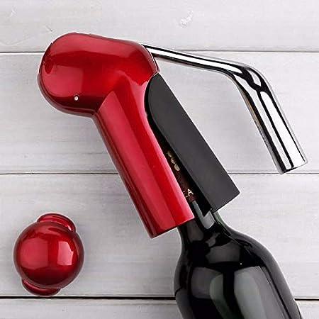 YILIAN El Nuevo Profesional de aleación de Zinc de energía de Vino abridor de Botella del abrelatas del sacacorchos con el Conejo de la Hoja de Corte Superior de la Palanca del sacacorchos del Vino