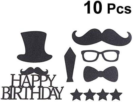 Amazon.com: Amosfun 10 piezas feliz cumpleaños decoración ...