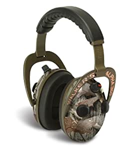 GSM Outdoors Alpha Muff 360 Binaurale Diadema Camuflaje auricular con micrófono - Auriculares con micrófono (Binaurale, Diadema, Camuflaje, Inalámbrico, Circumaural, -50 dB)