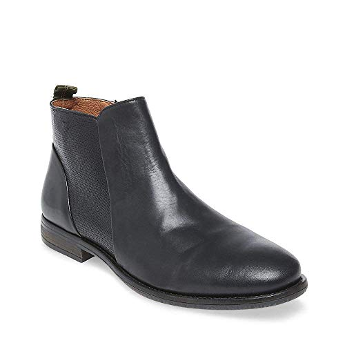 12 Black Us Madden Bootie Leather Women's 0 Cortland Casual Steve OvgT0Uq7c