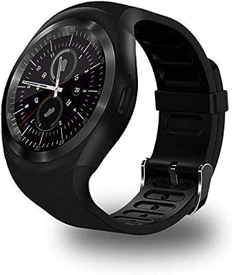 Smart-Tracker Relojes de Fitness, Y1 Bluetooth Inteligente Reloj ...