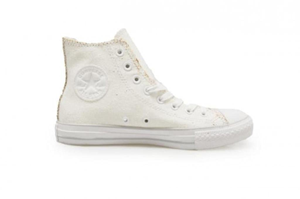 35c72d0b3fe Converse Unisex - Chuck Taylor All Star Ox High - White Gold - UK 7   Amazon.co.uk  Shoes   Bags