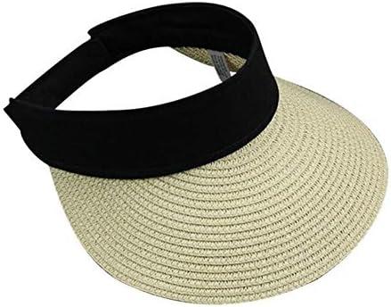 Sombrero De Paja Visera Sombreros De Las Mujeres De ala Grande ...