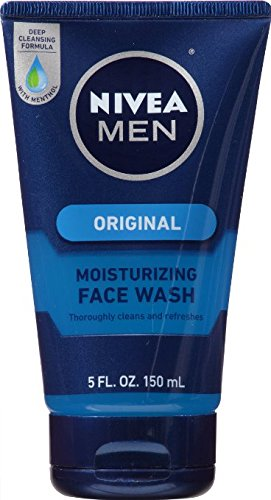 Nivea MEN Original Moisturizing Face Wash, 5 oz Tube Pack...