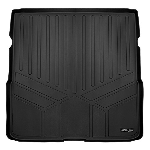 MAXLINER All Weather Custom Fit Cargo Trunk Liner Floor Mat Behind 2nd Row Black for 2016-2019 Honda Pilot