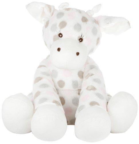 Little Giraffe Big G Plush Giraffe Luxe Dot Pink