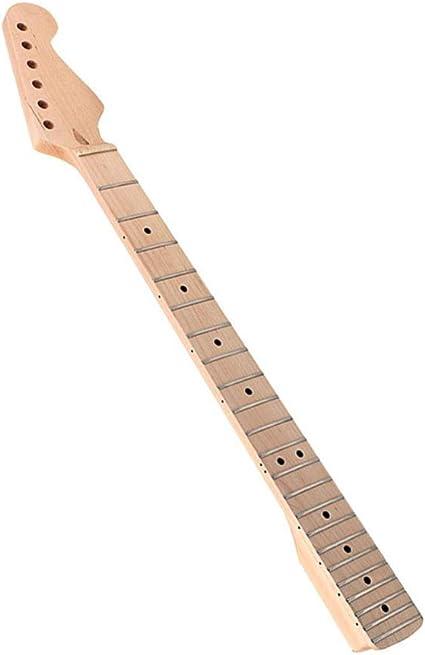 Supvox - Mango para guitarra 22 teclado de arce teclado guitarra eléctrica mango para guitarra partes de teclado mango de arce teclado para guitarra bajo instrumento musical: Amazon.es: Instrumentos musicales