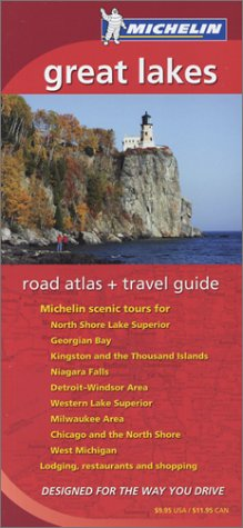 Michelin Great Lakes Regional Atlas & Travel Guide (Michelin Regional Atlas & Travel Guide Great Lakes)