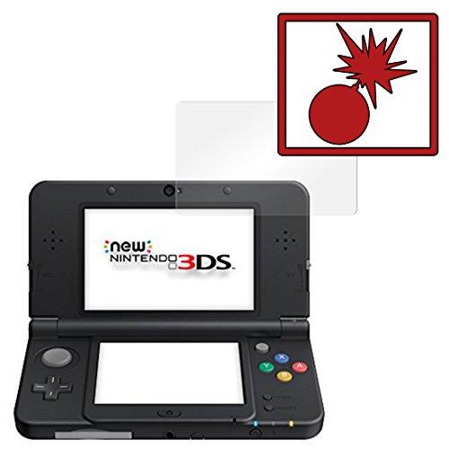 2 x Slabo Panzerschutzfolie New Nintendo 3DS Panzerfolie Displayschutzfolie Schutzfolie Folie