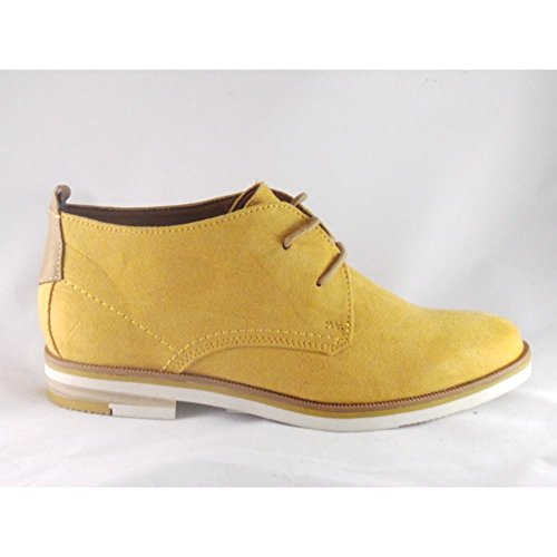 Marco Tozzi - Botas para mujer amarillo amarillo
