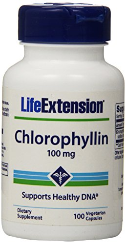Life Extension Chlorophyllin 100 Mg Vegetarian Capsules, 100