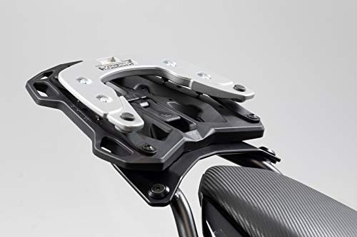 SW Motech GPT 00.152.54600/B Street Rack Adaptor Plate for Krauser (Wing Hepco & Becker Bow Top Case, Black ()
