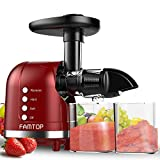 Best Cold Press Juicers - FAMTOP Slow Masticating Juicer Extractor with Reverse Function Review