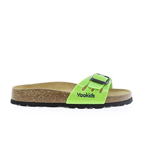 YOOKIDS - Tongs / Sandales - Doll - Vert