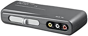 Goobay 60925-GB 3 In 1 Out Audio Video Switch Box by Goobay