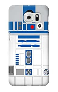 S1853 R2D2 Minimalist Case Cover For Samsung Galaxy S6 by mcsharks