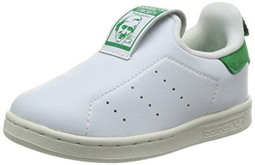 adidas - Zapatillas de Material Sintético para niño verde/blanco