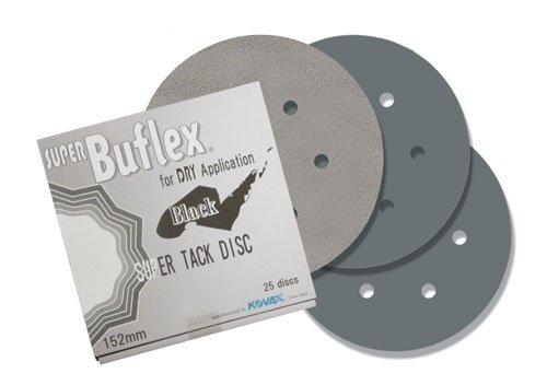 7 holes BLACK Eagle 193-1534 6 inch DRY Super Buflex Discs 25 discs//box