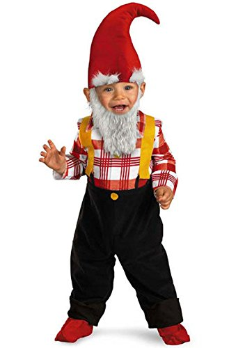 [Mememall Fashion Garden Gnome Infant/Toddler Costume] (Dinky Dragon Baby Costumes)